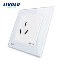 Livolo Bonne conception et qualité Prise murale Prise électrique VL-W2Z1B-12