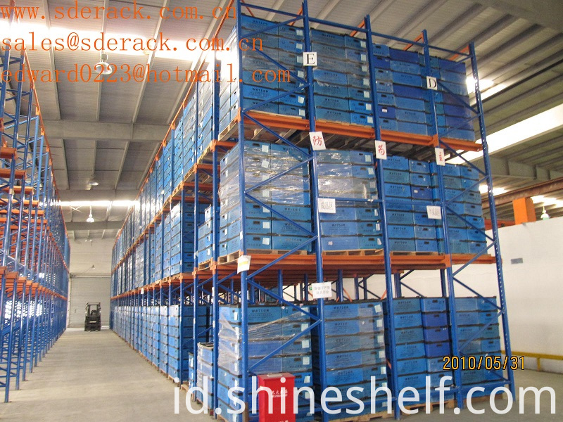 4 Pallets Deep Drive in Pallet Racking