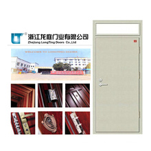 90 Minutes FM Fire Rated Doorand Glass Fireproof Door