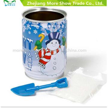 Decoración de nieve mágica instantánea artificiales falsos en polvo sólo agregar agua