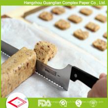 Papier de cuisson antiadhésif traité anti-adhésif au silicone