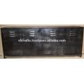 vintage industrial metal sideboard