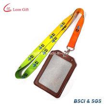 Portatarjetas de cuero hechos a mano con cinta