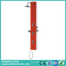 Coluna de chuveiro de vidro de segurança mais recente de precipitação com cor vermelha (LT-B735)