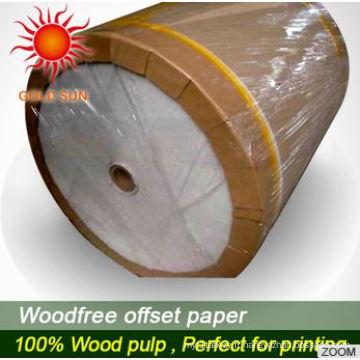 Papier d'impression offset haute qualité à bas prix