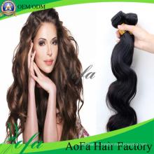 Свободная Волна Оптовая Продажа Человеческих Волос Перуанский Волосы Утка