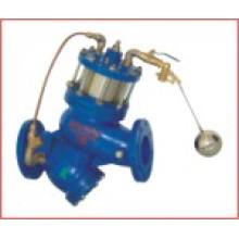Vanne à flotteur à commande à distance du piston filtrant (GL98003)