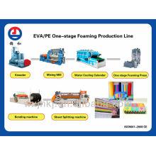 Línea de producción de hoja de la espuma de Eva