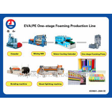 Eva foam sheet production line