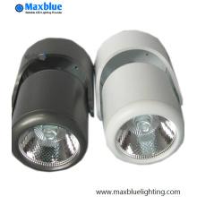Lámpara de techo orientable de 10W con superficie de rodadura COB LED