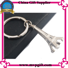 Customized Metal Key Chain with 3D Logo Engraving