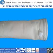Sac filtre acrylique de collecteur de poussière pour l'usine de mélange d'asphalte