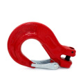 G80 clevis sling hook with cast latch for lifting