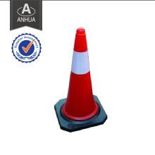 PE und Gummi Reflektierende Verkehrssicherheit Kegel
