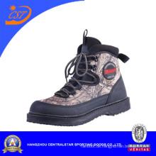 Sales gut Camouflage Anti-Rutsch-ein athletisches Design für Angler Wasser Schuhe (WB-05)