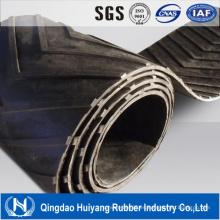 El proveedor de China Chevron utilizó la banda transportadora de goma