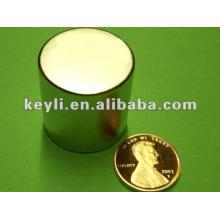 Aimant de néodyme N52 de 25,4 mm de diamètre x 25,4 mm d'épaisseur - 57,88 kg Tir (nord)