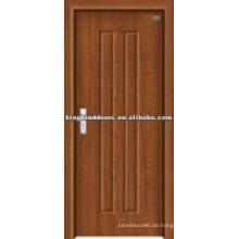 Schlichtes Design PVC MDF Tür für Schlafzimmer Design (JKD-8002) aus China Top 10 Marke Türen