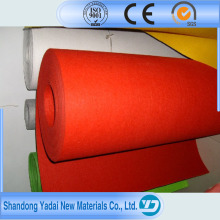 Ce Approved Nonwoven Needle Punch Polyester Plain Carpet for Wedding