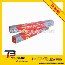 Household Aluminium Foil Roll for Food Wrap and Catering Roll