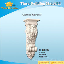 PU carved corbels for home decor