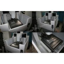 Machine de découpage de gravure de moule de machine de commande numérique par ordinateur de travail des métaux