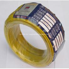 Alambre eléctrico del PVC del conductor de aluminio con 450 / 750V