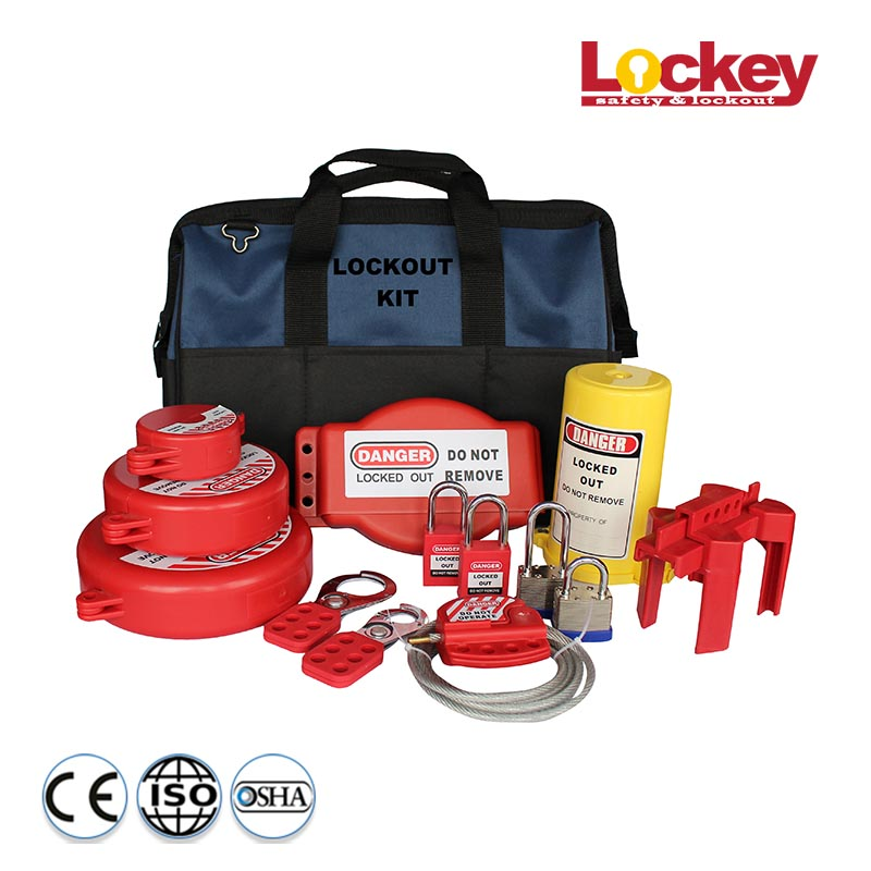 Safety Lockout Tagout Kit