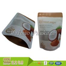 FDA Certificated Custom Printing Food Packaging Heat Sealable Coconut Sugar Packing Plastic Bag
