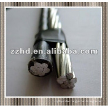 duplex wire aerial bundled cable abc cable overhead cable China manufacturer with reliable quality and good price