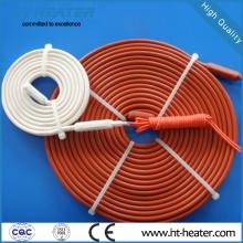 Traço térmico de tubo flexível de borracha de silicone