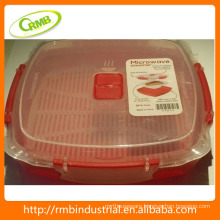 RMB Plastic Microwave Oven Food Container with BPA Free/ FDA Certificated with 2 hours reply