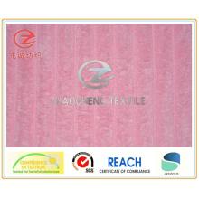 2,5WN / P de tecido colado de veludo cotelê cor rosa (ZCCF044)