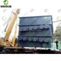 Máquina automática de reciclaje de caucho para llantas de desecho