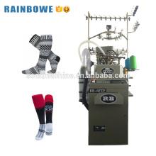 Máquina de tejer automática de calcetines de un solo cilindro de alta capacidad usada calcetines de tejer zhejiang