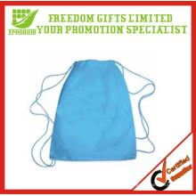 Promotional Custom Non Woven Blank Drawstring Bag
