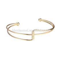 2017 großhandel Trending Produkte Edelstahl Armband frauen Armbänder