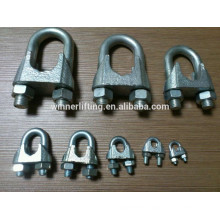 Cheap Sale DIN 741 Malleable Zinc plated Wire Rope Clip