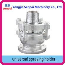 Aleación de aluminio Universal Spraying Holder