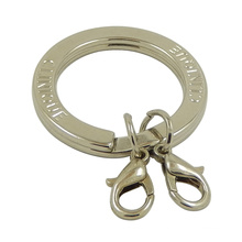 Изготовленный На Заказ Серебряный Металлический Плоский Разрезное Кольцо