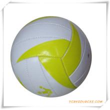 Material del PVC tamaño oficial 18 paneles de voleibol laminado para la promoción
