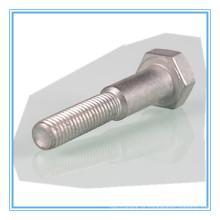 Parafuso de cabeça sextavada DIN609 (aço inoxidável / aço carbono)