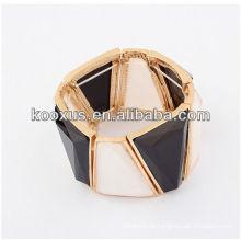 Braceletes jóias pulseira encantos bracelete de acrílico pulseiras