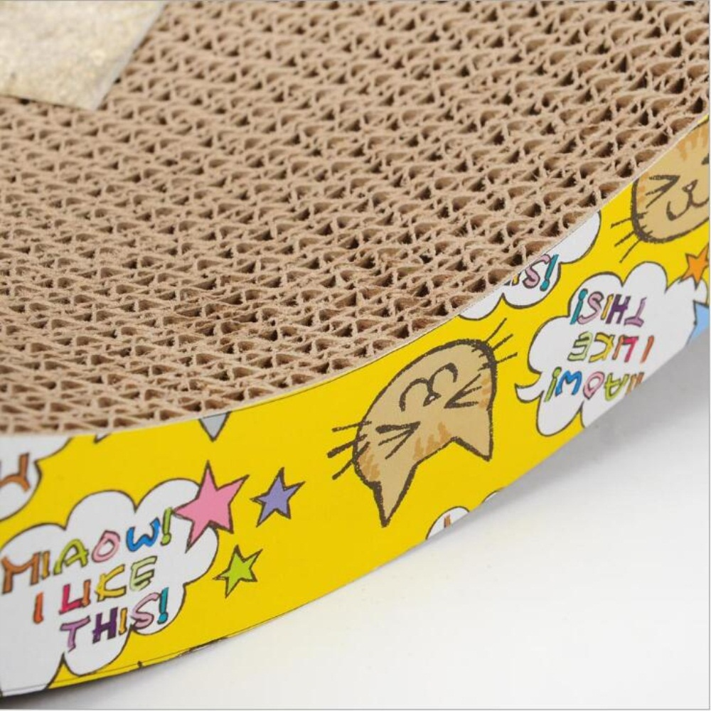 Recycled Paper Cat Scratcher