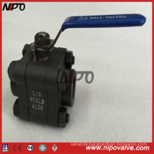 Forged Steel Bw/Sw/NPT Thread Ball Valve