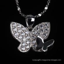 Beautiful Betterfly Shape Fashion Decoration Jewelry Necklace