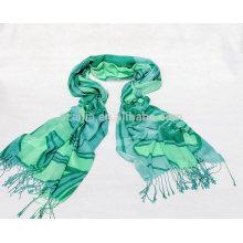 Fashion ladies viscose printed scarves