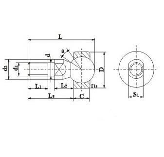 Ball Joint Spherical Bearings SQD Series