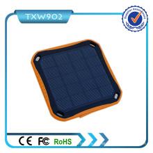 2016 Banco de la energía solar del producto caliente 10000mAh impermeabilizan el cargador solar portable del banco de la energía para el teléfono celular