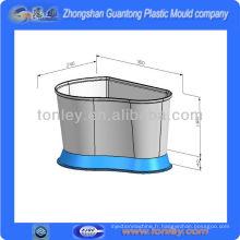 grand rond fabrication aquarium acrylique